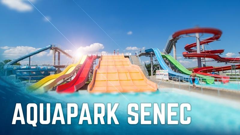 All Water Slides at Aquapark Senec