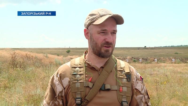 Бригада територіальної оборони Запорізької області провела стрілецький день
