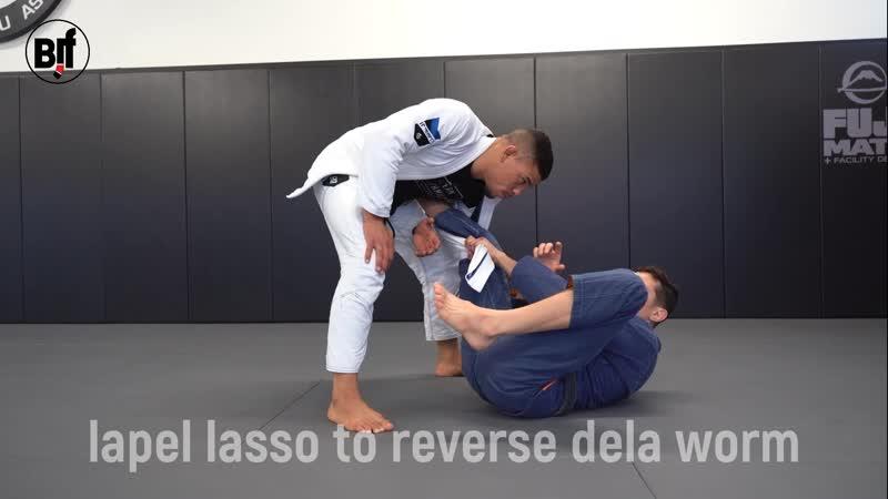 Caio Terra - lapel lasso to reverse dela worm