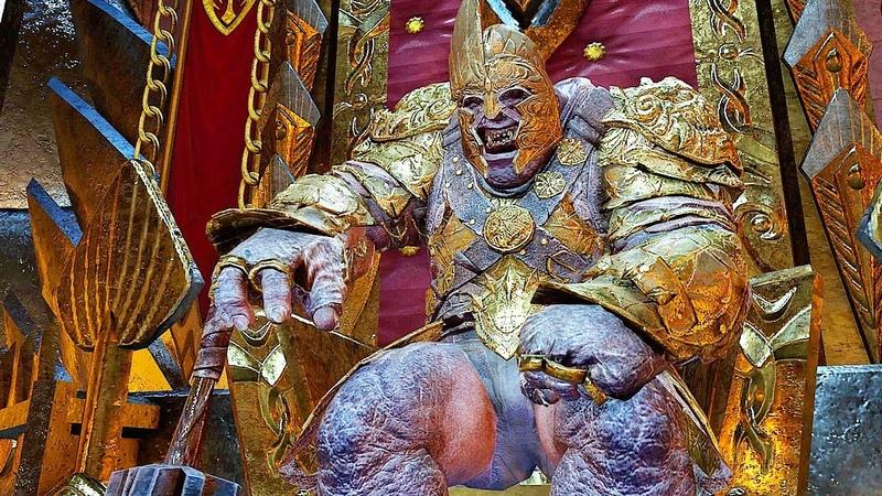 SHADOW OF WAR HIGH Level 524 GOLDEN Overlord Fiery Marauder Citadel Boss Batle