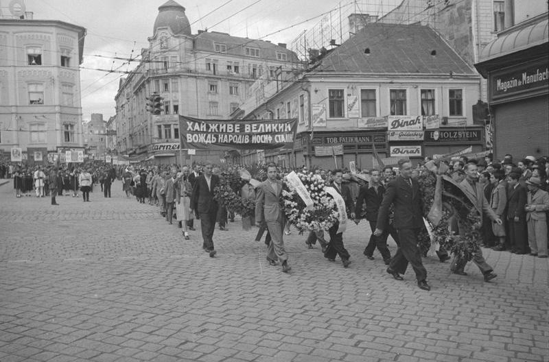 Черновцы, УССР, 1940 год.