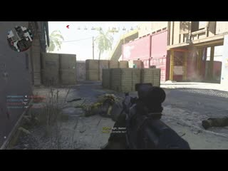 I was so surprised by the spawn, my dumb brain couldn't decide if they were an enemy or teammate. Modern Warfare