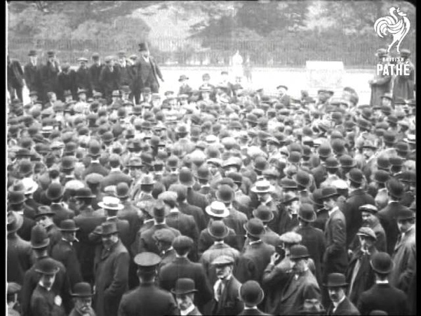 Intern Our Enemies Aka Mass Meeting On Internment Of Enemies 1914
