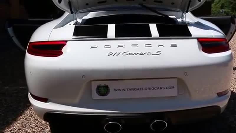 Porsche 911 991 Carrera S Endurance Racing Edition Manual in White
