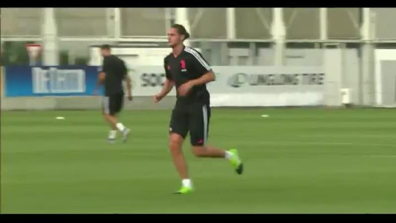 J Training La Juve è tornata al lavoro