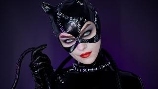 BATMAN RETURNS CATWOMAN 1992 Make-up Tutorial Halloween 2019