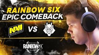 EPIC COMEBACK NAVI VS G2 @ Pro League S10 (RAINBOW SIX)