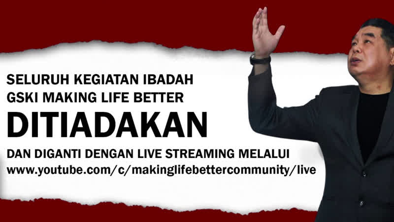 Rehobot Live Streaming Ekumene Bible Course 19 00 WITA 01 Juni 2020