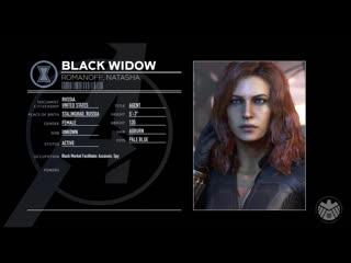 Marvels avengers _ black widow character spotlight