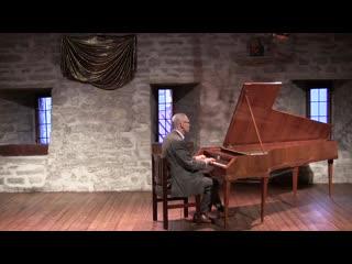 894 J. S. Bach - Prelude and Fugue in A minor, BWV 894 - Ivo Sillamaa, fortepiano.