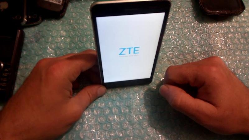 ZTE A510 - HARD RESET - сброс через рекавери меню