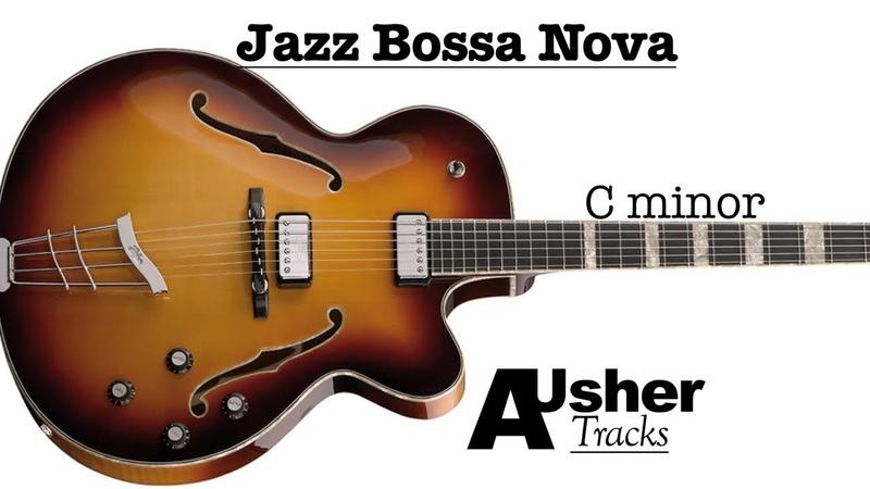 Jazz Bossa Nova C minor Guitar Jam Track