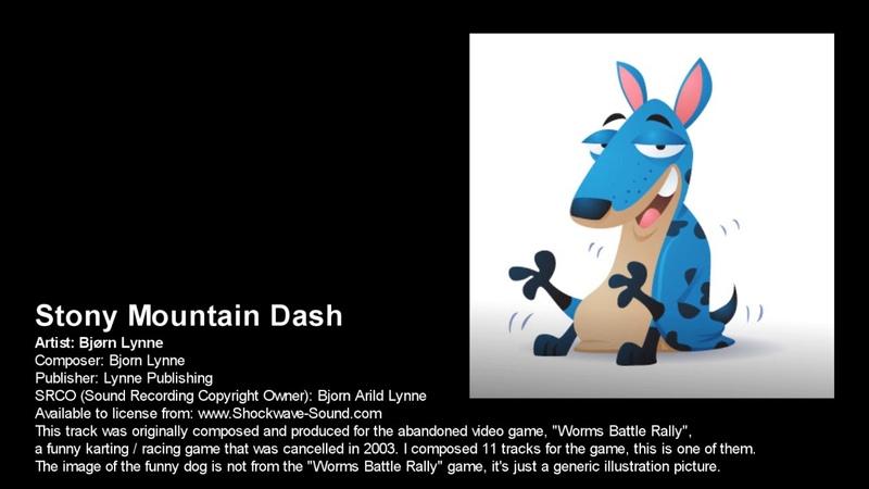 Bjørn Lynne Stony Mountain Dash abandoned video game music