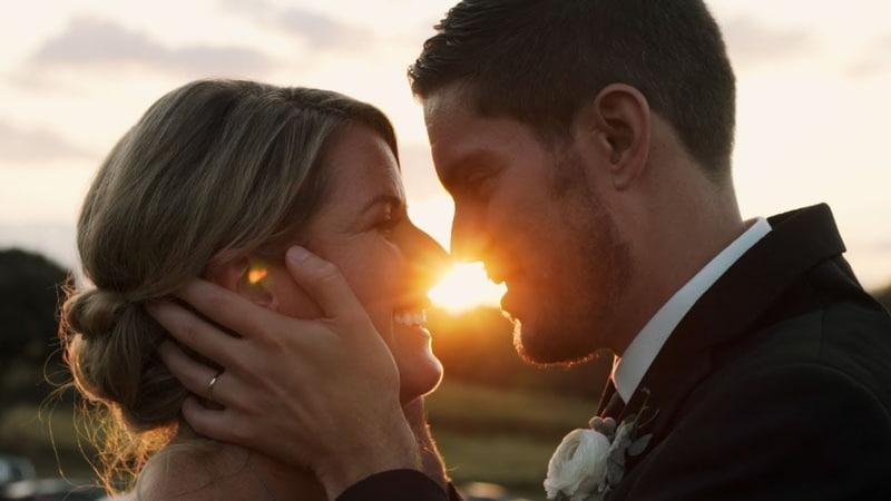 Sun Flares, Sunsets Love   Romantic Wedding in Pennsylvania