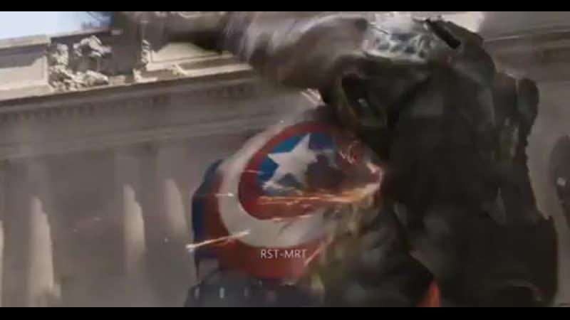 Капитан Америка жаксы әнмен