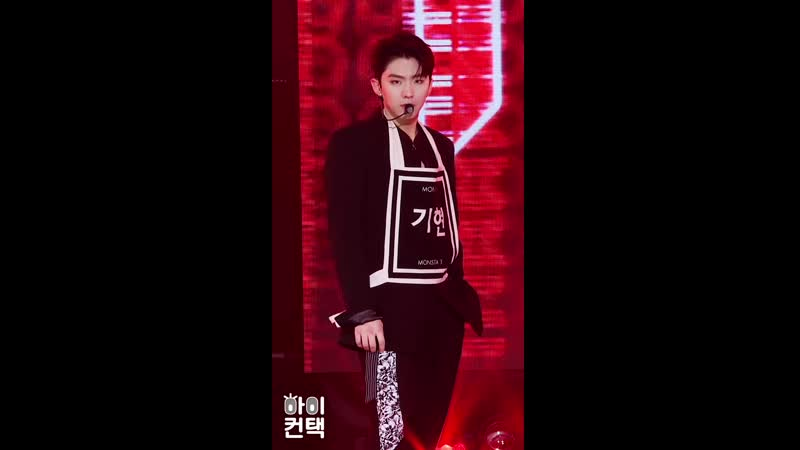 [VK][191105] fancam MONSTA X - Follow (Kihyun focus) @ The Show