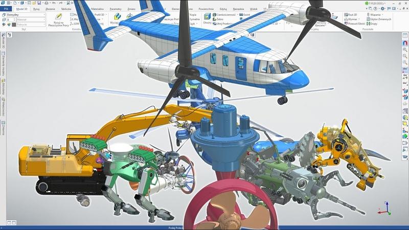 T-FLEX CAD - Duże złożenia i wydajność graficzna