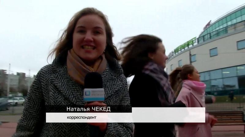Студенты-медики провели тематический флеш-моб в центре Твери