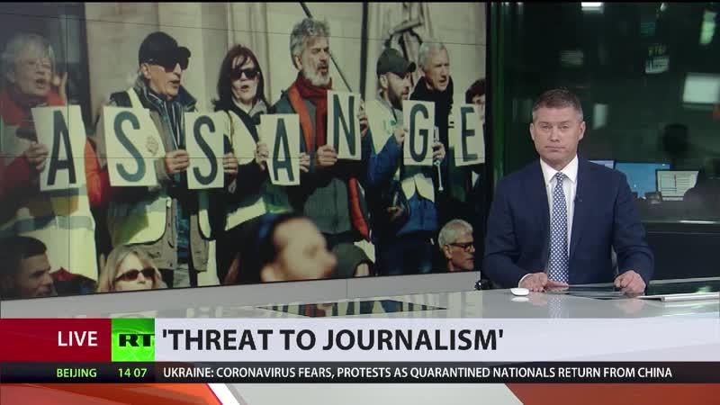 Chef von Reporter ohne Grenzen Assange Auslieferung ist Bedrohung für alle Journalisten