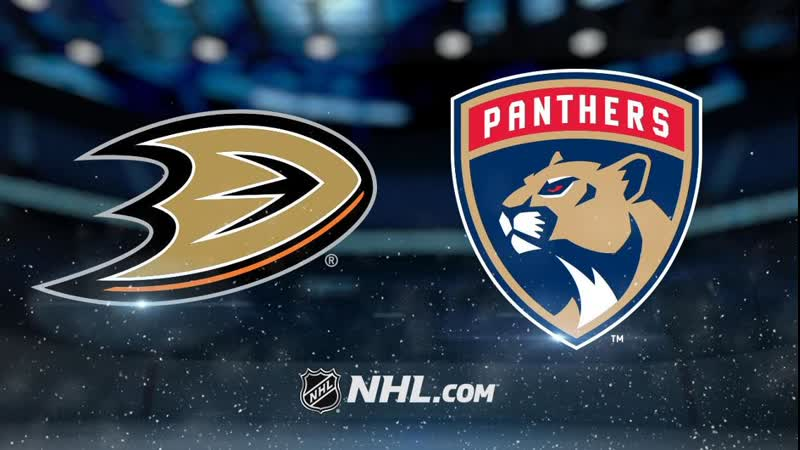 Анахайм Дакс Флорида Пантерз Anaheim Ducks vs Florida Panthers