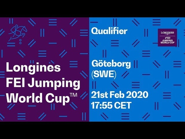 LIVE 🔴 Qualifier Göteborg SWE Longines FEI Jumping World Cup™ 2019 20 WEL