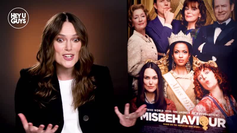 Keira Knightley Interview Misbehaviour