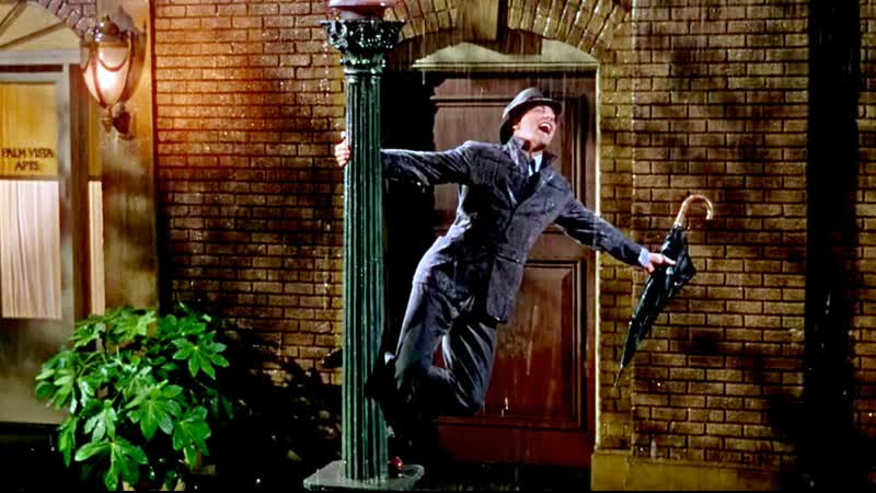 Singin in the Rain Title Song 1952 Gene Kelly