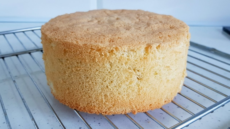 Самый простой Бисквит из 3 х ингредиентов Высокий бисквит Без разделения яиц