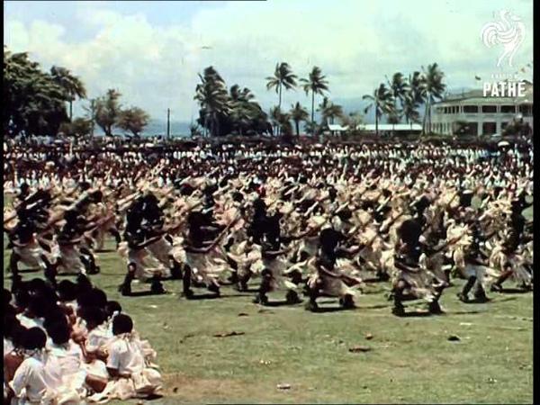 The Royal Tour - Fiji And Tonga - Reel 1 Part 2 (1954)