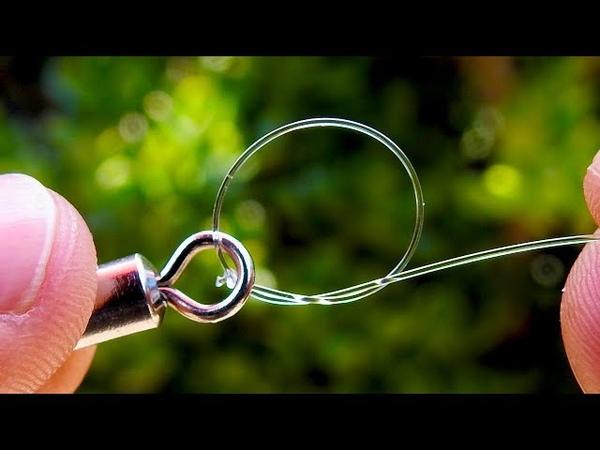 Aplica este nudo simple pero muy resistente en tus accesorios de pesca