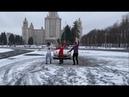 Лезгинка Чеченская Мадина С Панамерой В МГУ 2020 Lezginka Madina ALISHKA RUSLAN KOLOMIJ (Москва)