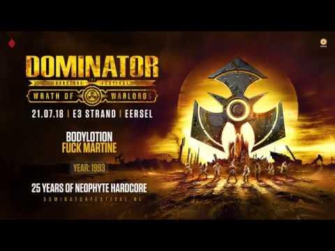 Neophyte 25 years of hardcore | Dominator 2018