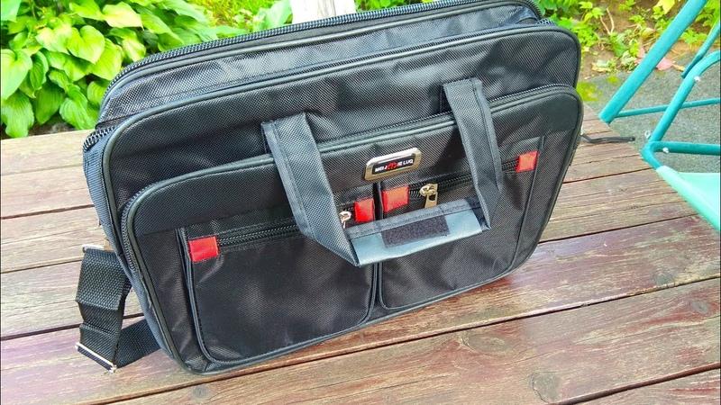 Мужской офисный портфель сумка на плечо Mens office briefcase shoulder bag