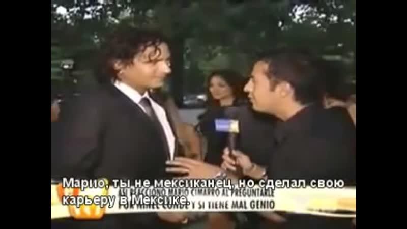 Mario Cimarro a su llegada al Festival Iberoamericano de cine en Nueva York con