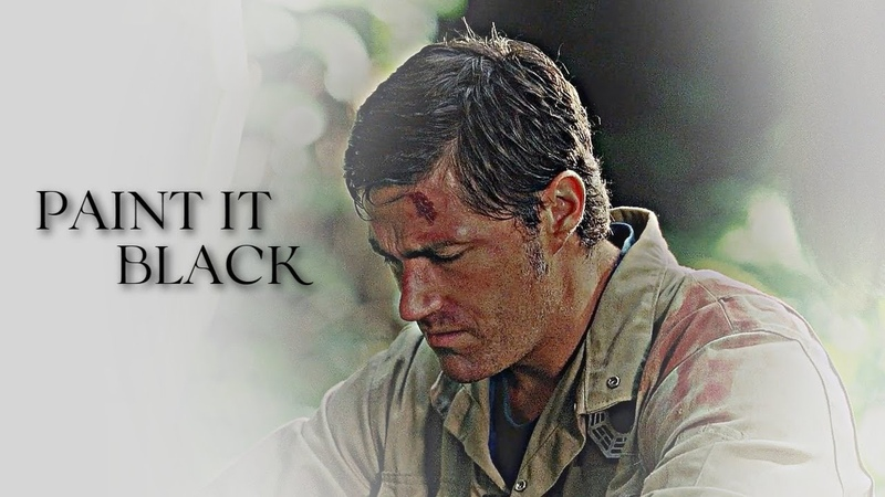Jack Shephard paint it black