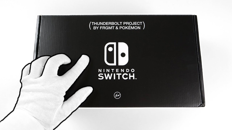 Unboxing NINTENDO SWITCH Expensive Pokémon Console Ultra Rare