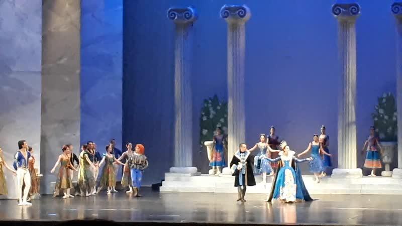 Swan Lake Act 1 Birthday Celebration for Prince Sigfried 4