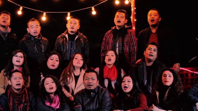 BESY Choir featuring Hmangaihi Christmas In Heaven Remake