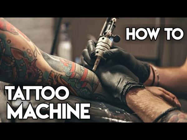 Как сделать тату машинку How to make tattoo machine tattoo diy greencraft