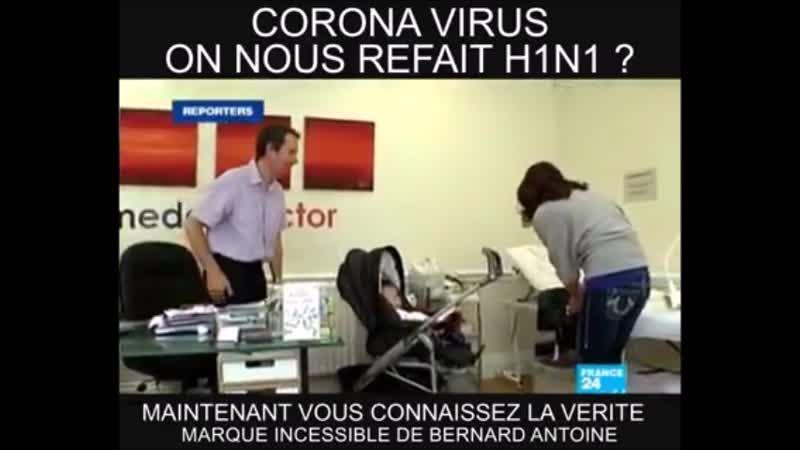 Santé publique Corona virus on nous refait le coup de la grippe H1N1