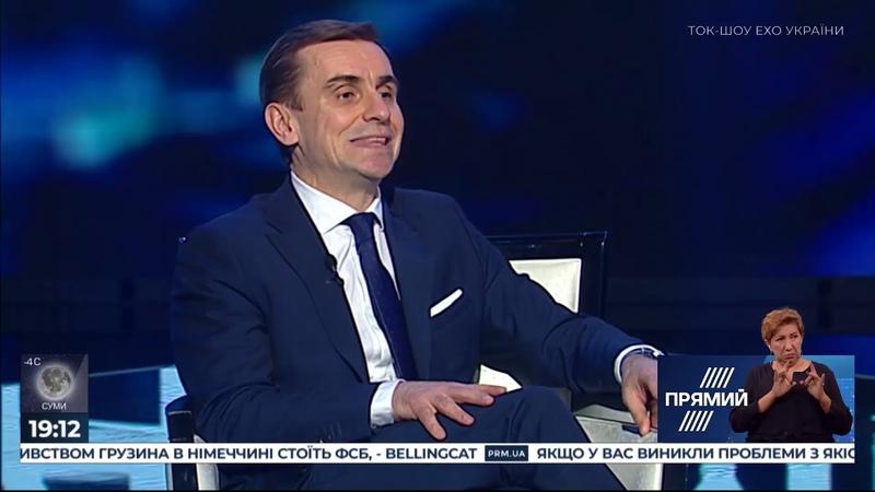 Костянтин Єлісєєв гість ток-шоу Ехо України 17.02.20