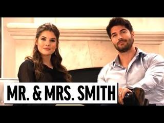 Mr. And Mrs. Smith Parody ft. David Spade, Nick Bateman, Amanda Cerny | Funny Sketch Comedy Videos