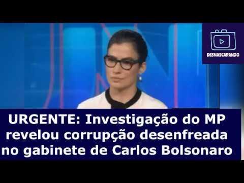 Reportagem do Jornal Nacional revela corrupção pesada dentro do gabinete de Carlos Bolsonaro