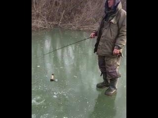 А у вас бывало такое что едешь на летнюю рыбалку а попадаешь на зимнюю