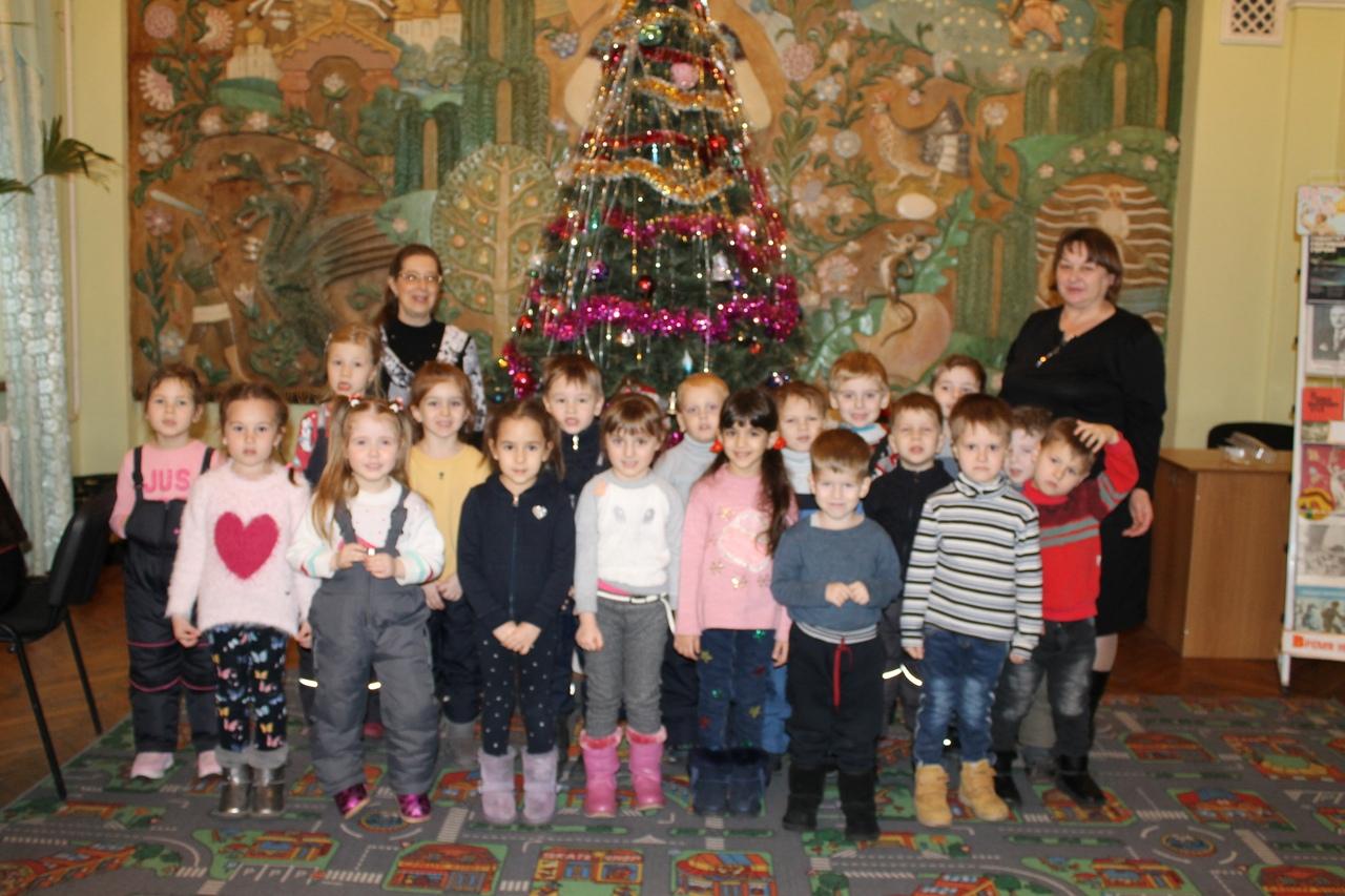 донецкая республиканская библиотека для детей, отдел обслуживания дошкольников и учащихся 1-4 классов, хочу все знать, новогодние праздники