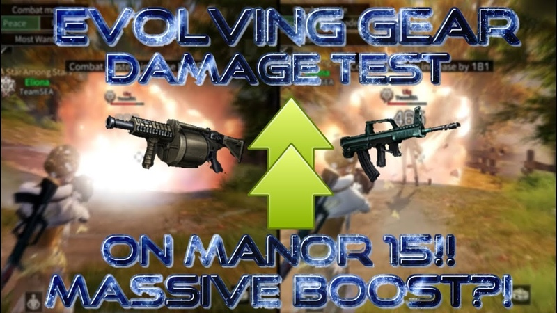 Testing Howitzer damage on manor 15 10 Attack power Massive boost is it good now Lifeafter