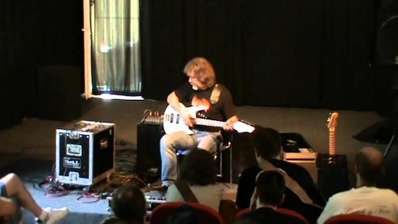Krzysztof Ścierański - warsztaty na festiwalu gitary basowej Graj(mi)dół (part 1)