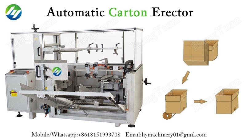 Automatic Vertical Type Carton Erector, Carton Opening Machine to Erect Carton Box Instead of Manual