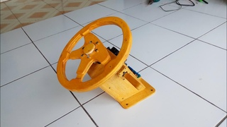 Membuat Steering Wheel Dari Arduino Leonardo