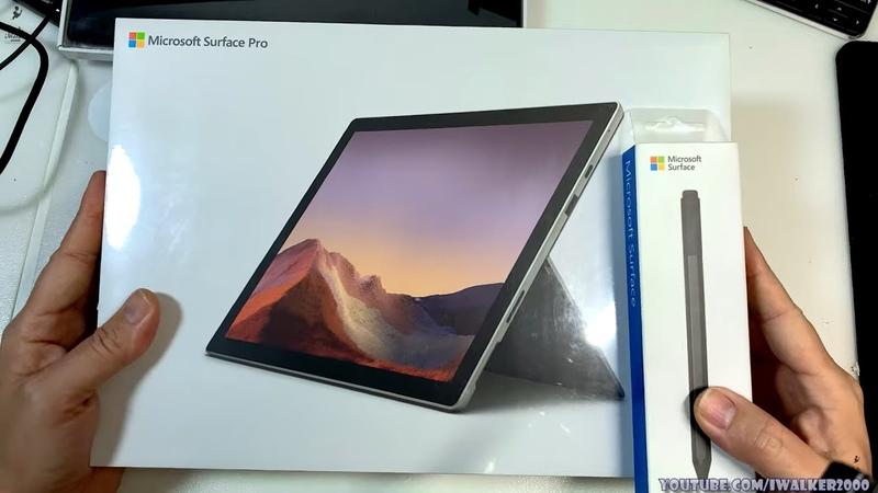 ГадЖеТы распаковка и первичный обзор нового 2 in 1 планшета Microsoft Surface Pro 7 i5 1035G4 4GB
